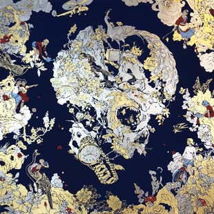 Jacky Tsai - Dream in the Deserted Garden (Blue)