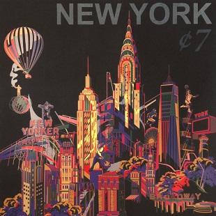 Jacky Tsai - NY Cityscape Stamp