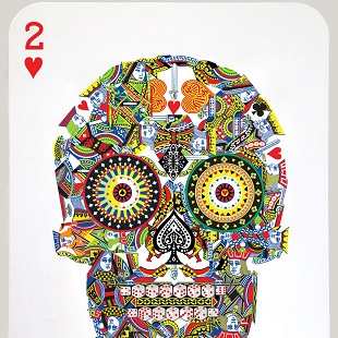 Jacky Tsai - Poker Skull (Two of Hearts)