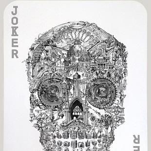 Jacky Tsai - Sanctuary Skull (Silver Joker)