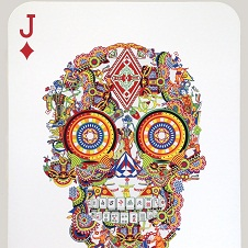 Jacky Tsai - Gambling Skull (Jack of Diamonds)