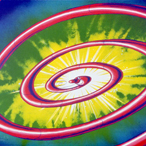 Kenny Scharf - Red Spiral Snake