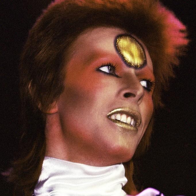 Mick Rock - Bowie Gold Spot 1973