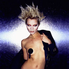 Mick Rock - Kate Moss with Pasties