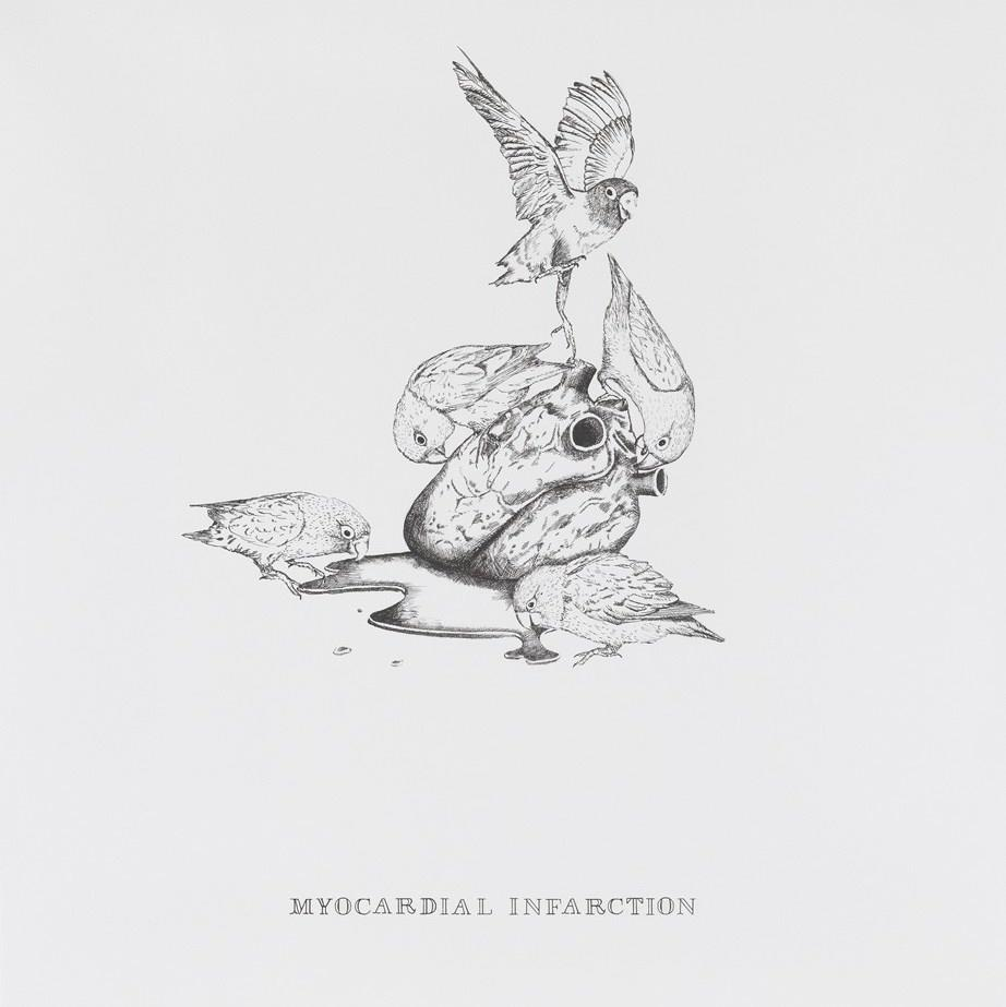 Polly Morgan - Myocardial Infarction (b&w)
