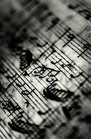 Ralph Gibson - Exlibris - Bach Sonate