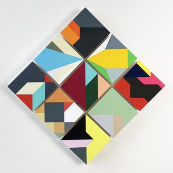 Ross Holden - Small Interlocking Panels