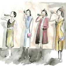 Vic Reeves - Lady Drinkers