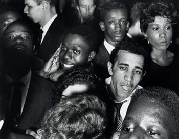 William Klein - Crowd, Palladium Ballroom, New York