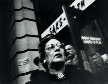 William Klein - Woman and Saks