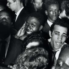 William Klein - Crowd, Palladium Ballroom, New York