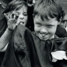 William Klein - Kids Making Faces
