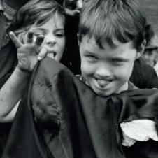 William Klein - Kids Making Faces