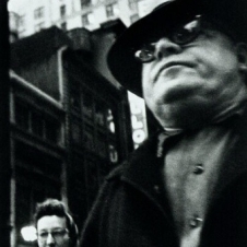 William Klein - Man Foreground, Woman Behind