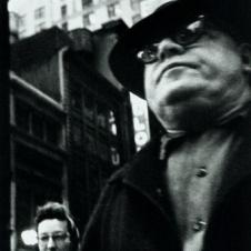 William Klein - Man Foreground, Woman Behind