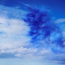 Rob and Nick Carter - Paint Pigment Photograph, Ultramarine Medium