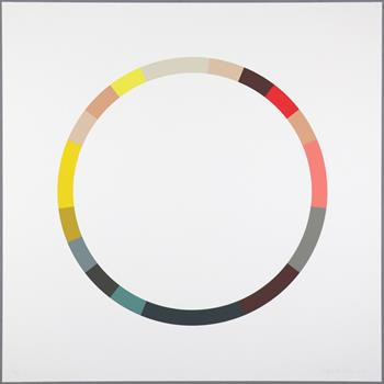 Sophie Smallhorn - Colour Wheel 5