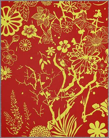 Dan Baldwin - Imaginary Paradise (Artist Proof, Red-Yellow)