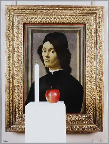 Braco Dimitrijevic - Portrait of a Young Man (1996)