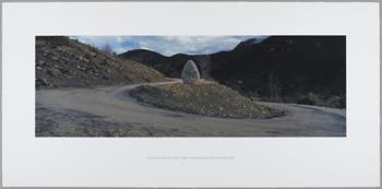 Andy Goldsworthy - La Vallee du Vancon Cairn (April 2000)