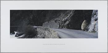 Andy Goldsworthy - Vallee du Bes Cairn 1 (June 1999)