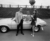 Bill Owens - Pinto and Maid of Livermore 1971