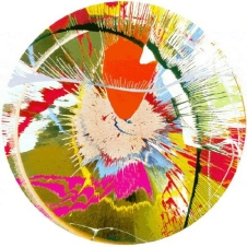 Damien Hirst - Beautiful, Galactic, Exploding Screenprint (Spin)