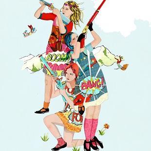 Delphine Lebourgeois - Bang Bang Girls